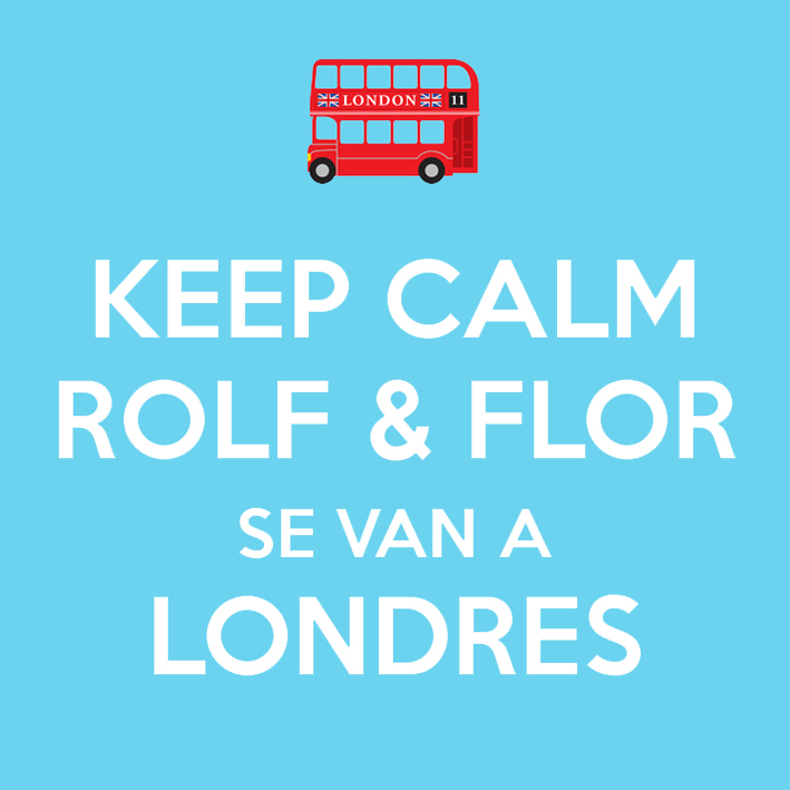 rolf & flor en londres keep calm