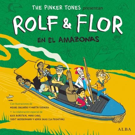 Libro Disco Rolf & Flor en el Amazonas